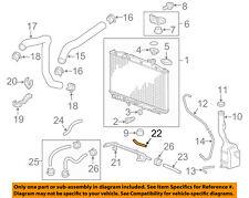 HONDA OEM Radiator-Cooler Pipe 25210RDJ010