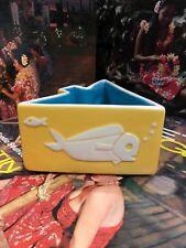 Yellow Modfish Tiki Bowl Mid Century Mug Designed by Ken Ruzic & Tiki farm