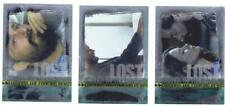 LOST SEASON 3 - THROUGH THE LOOKING GLASS - INSERT FOIL CHASE CARDS LG-1 TO LG-3