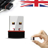 150Mbps Wireless USB WiFi Adapter Dongle LAN 802.11n Dual Band 2.4GHZ Laptop PC