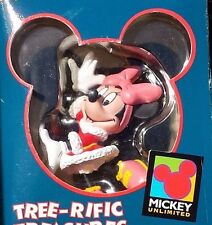 Disney Ornament Minnie Ice Skating Tree Rific Treasures Enesco Mickey Unlimited