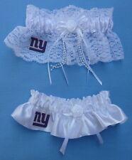 Wedding Garter Set - New York Giants NY Football Themed Fans Fun Bridal Garters