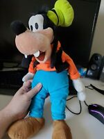 goofy 18 inch plush disney store authentic huge and soft mickey mouse ship fast