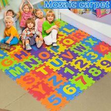 Kids Baby Boys Girls Foam Floor Puzzle Play Mat Pad Crawling Carpet Decor Hot