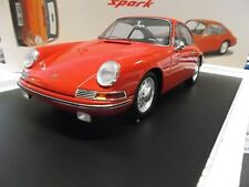 Porsche 901 911 Coupe 11er rojo red 1963 18s126 rar Spark resin 1:18