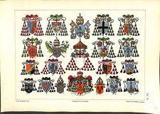 10° Ströhl Heraldischer Atlas héraldique blasons Eglise 1899