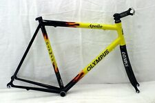 Olympus Apollo Race Road Bike Frame M 56cm Carbon Blade Fork Headset BB Charity!