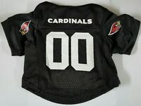 NEW ARIZONA CARDINALS PET DOG MESH FOOTBALL JERSEY ALL SIZES LICENSED BLACK