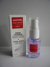 MASTERS COLORS SPRAY FIXATEUR FIXER SPRAY active séchage express vernis à ongles
