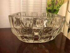 Paloma Picasso  Villeroy & Boch Crystal Serving Bowl Centerpiece Square