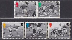 Great Britain SG 1925-1929 XF U/M 1996 European Football Championship Set of 5