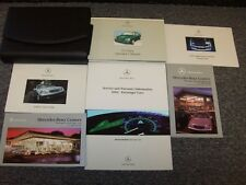 mercedes benz 2001 cl class cl500 cl55 amg cl600 owners owner s user operator manual pdf