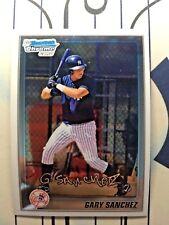 GARY SANCHEZ 2010 Bowman Chrome 1st Bowman Prospect #BCP207 New York Yankees