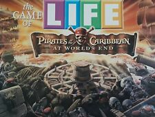 "Game Of LIFE Pirates Of The Caribbean ""At Worlds End"" Board Game 100% Complete"