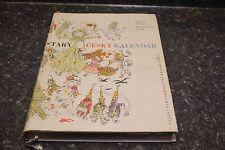 STARY CESKY KALENDAR BOOK DNT LOC.G-2 #117