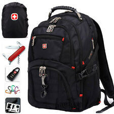 "New Swissgear Backpack 15 17"" Laptop Bag Daypack Travel Sport Rucksack Schoolbag"