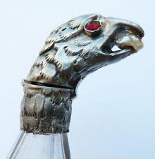 Flacon à sels ou parfum en argent aigle 19e siècle  silver scent bottle eagle