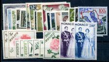 Monaco 1958 590-617 ** fresco POSTALE € 77 (a9728