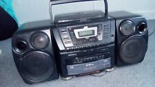 Vintage 90s JVC PCXC70 10 Disk changer CD-Player huge boombox dual Cassette