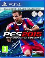 Pro Evolution Soccer 2016 -- Day 1 Edition (Sony PlayStation 4, 2015)