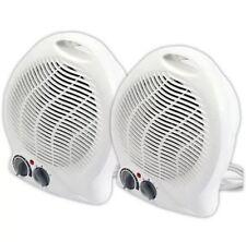 2 X 2000W Eléctrico Ventilador Silencioso portátil calentadores Hot & Calentador de aire fresco NUEVO