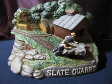 Slate Quarry Decanter Mount Hope Collectible