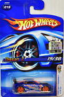 HOT WHEELS 2006 FIRST EDITIONS NISSAN Z 019 BLUE FACTORY SEALED