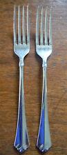 New listing 2 - Oneida Juilliard Julliard Cube Stainless Flatware DiNner Forks