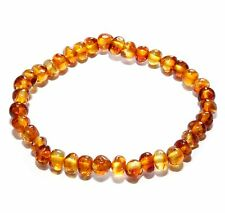 Genuine Baltic Amber Beads Adult Bracelet Honey Stretch 5 g Small Beads