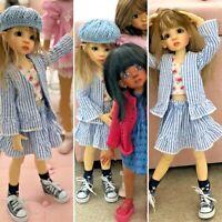 Sasha Doll / Kaye Wiggs Hi Top Canvas /Chucks /Washed Navy