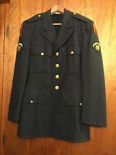 Vietnam Era US Army Dress Green Uniform Jacket + Pants Set Wool Aviation Class A