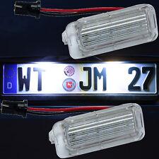 SMD LED  Kennzeichen Beleuchtung Jaguar SEHR HELL kalt weiss Nummernschild 7903