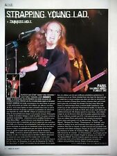 COUPURE DE PRESSE-CLIPPING :  STRAPPING YOUNG LAD  2002 Live Report Boule Noire