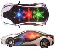 Bump & Go Winner Sports Car With Lights & Music ~ Bump-N-Go Fun Action Race Car