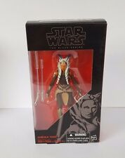 Star Wars the Black Series AHSOKA TANO 6 Inch Figure Rebels W6 - Mint in Box