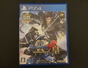 Used PS4 Sengoku BASARA4 Sumeragi Imported Japan