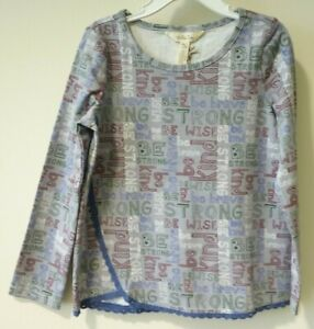 BNWT Matilda Jane Choose Your Own Path The Best You Can Be Top Girl's Size 6