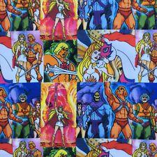 FQ 1980S RETRO TV HE-MAN SHE-RA SKELETOR FABRIC CHILDRENS CHARACTER