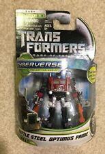 Transformers Battle Steel Optimus Prime Dark of the Moon DOTM Cyberverse 2010