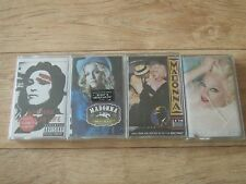 Madonna KOREA Cassette tape lof of 4 NEW OOP