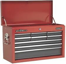 Sealey American Pro 9 Drawer Top Chest Tool Box Ball Bearing Runners AP22509BB