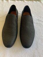 TALLIA MEN'S TEDALDO BLACK /GOLD  LOAFER SIZE 10 M Size 43 UK 9 Shoes