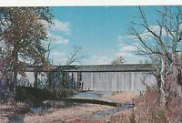 "*Indiana Postcard-""Adams Covered Bridge"" (Over Little Raccoon River) Parke Cunty"