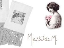 Mathilde M Serviette de toilette, Angéliques, coton nid d'abeille 50x80cm