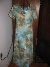 Ladies HILO HATTIE HAWAIIAN LONG DRESS SZ XS