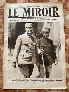 Militaria Journal LE MIROIR n°98 du 10-10-1915 (envoi monde gratuit)