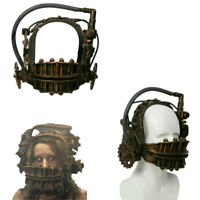 Xcoser SAW Cosplay Helmet Reverse Bear Trap Bronze Resin Mask Movie Props Adults