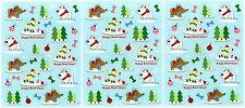 3 Sheets Christmas Winter DOG Happy Howl-idays Stickers