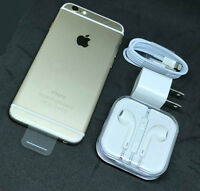 Apple iPhone 6 - 16GB - GOLD White (Unlocked) AT&T / T-Mobile / Worldwide *N/O*