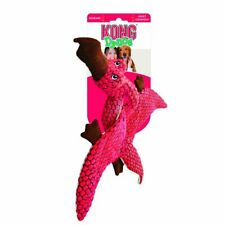 Kong Dynos Pterodactyl Coral Small Dog Toy